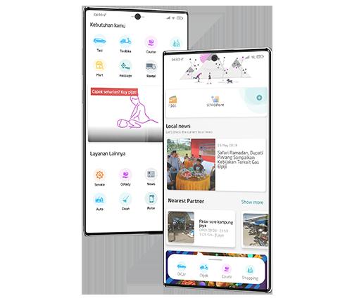 Aplikasi Transportasi Online Berbasis Android & IOS